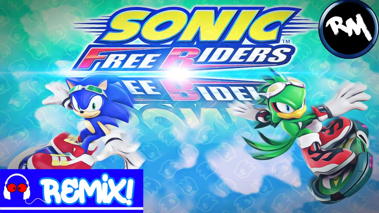 Sonic Free Riders [Theme Song Remix!] -Remix Maniacs