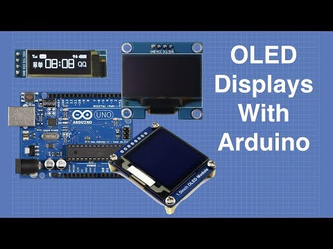 OLED Displays with Arduino - I2C & SPI OLEDs