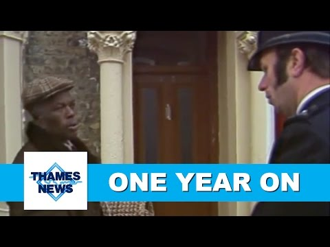 Brixton Riots | 1 Year Later | Thames News Archive Footage