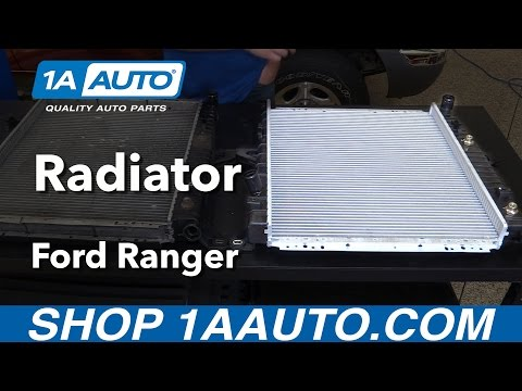 How to Install Replace Radiator 1998-2011 Ford Ranger V6 4.0L Buy Quality Auto Parts from 1AAuto.com