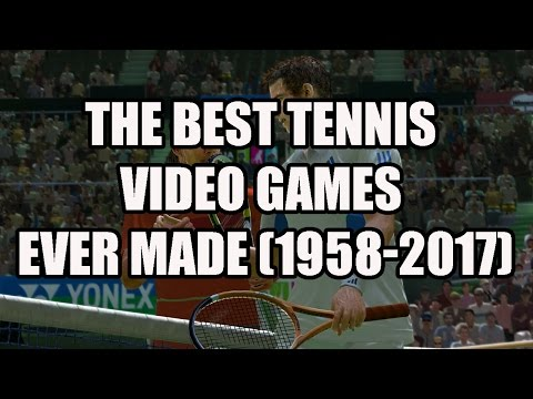 History Of Tennis Video Games (1958 - 2017)