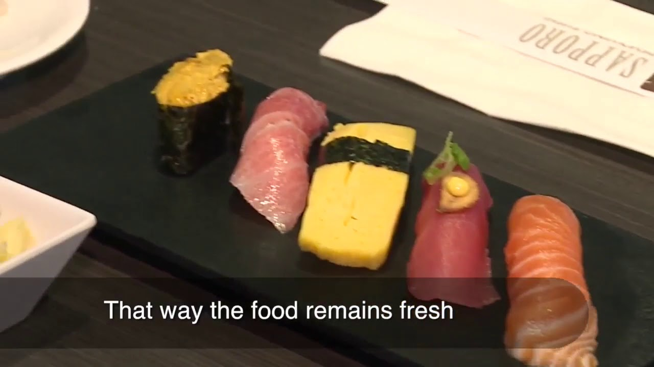 First Conveyor Belt Sushi Restaurant Now Open In Las Vegas