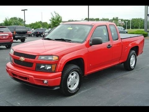 2006 Chevrolet Colorado Ls Ext Cab 2wd Start Up And Short Tour Youtube