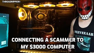 Connecting A Scammer To My $3000 Computer! thumbnail