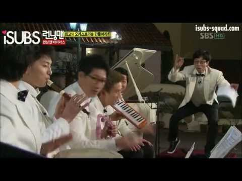 [CUT]Running Man ep 40 Orchestra Performance