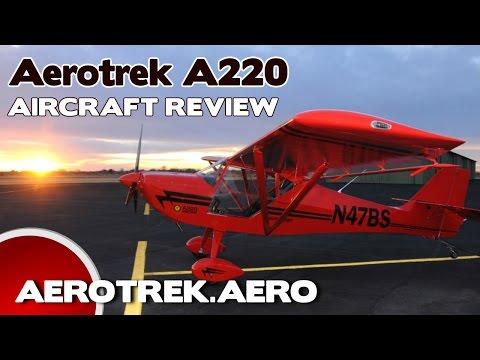 Aerotrek 220, Aerotrek A220 Light Sport Aircraft Review, Rollison Aircraft