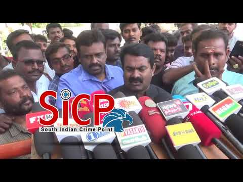 Seeman talk about Sterlite Copper plant in Tuticorin