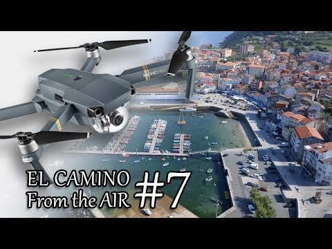 EL CAMINO from the AIR | FISTERRA