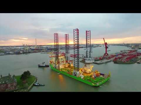 Upgrade of jack-up vessel  Innovation @ Damen Shiprepair Rotterdam