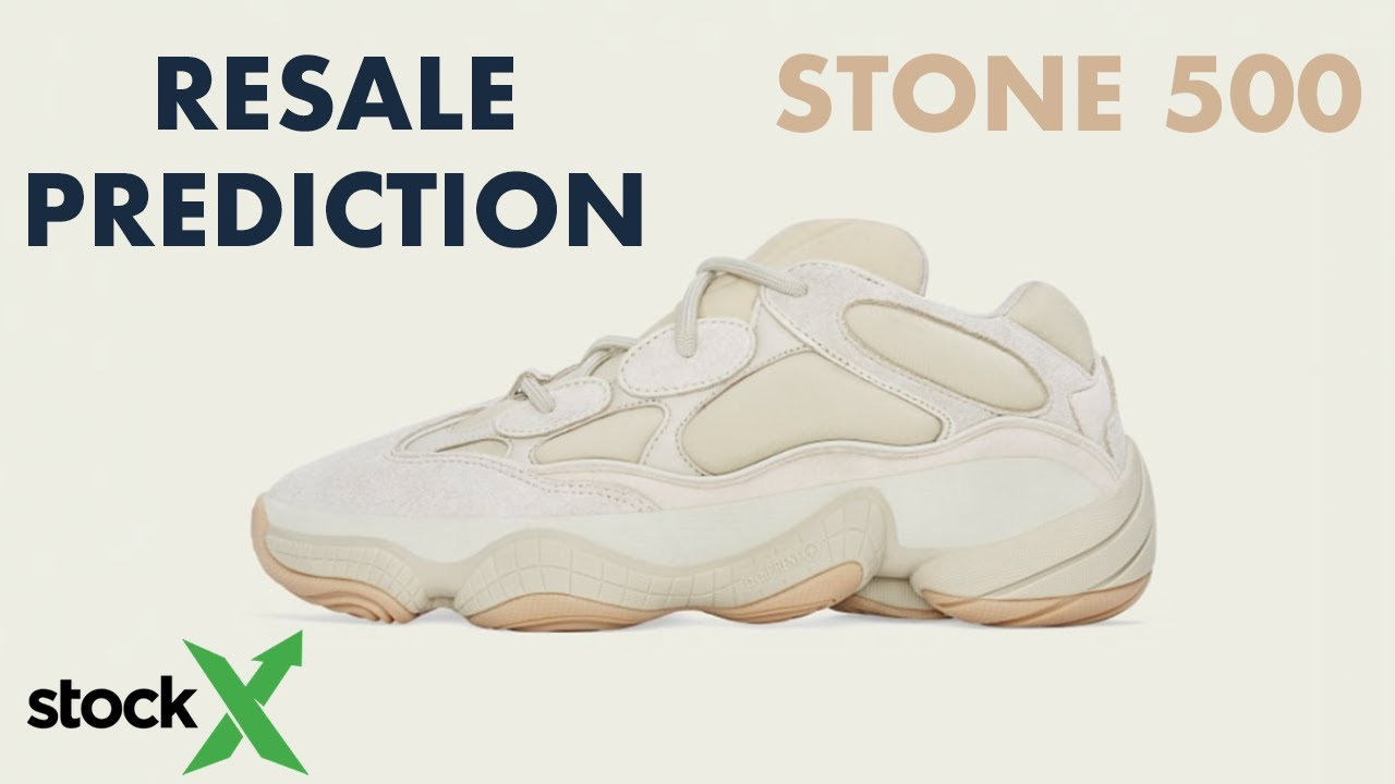 Adidas Yeezy 500 Stone Resale