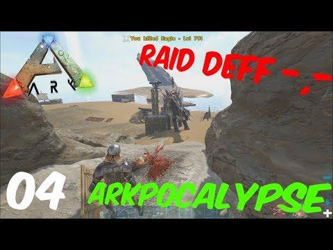 ARK Apocalypse Official PvP | DIE ALPHAS RAIDEN UNS ... -,- | Ep. 04