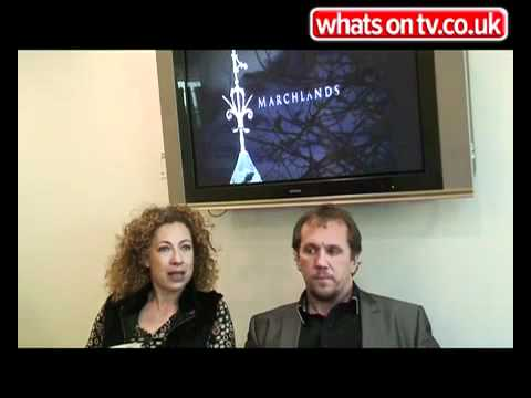 Marchlands  Alex Kingston and Dean Andrews talk about their role on the