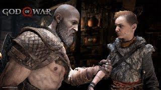 GOD OF WAR #18: ARMADILHAS, INIMIGOS E O GAROTO (Gameplay em Português)