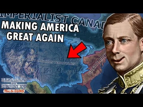 What If There Was A Second British Empire?! HOI4 Man The Guns