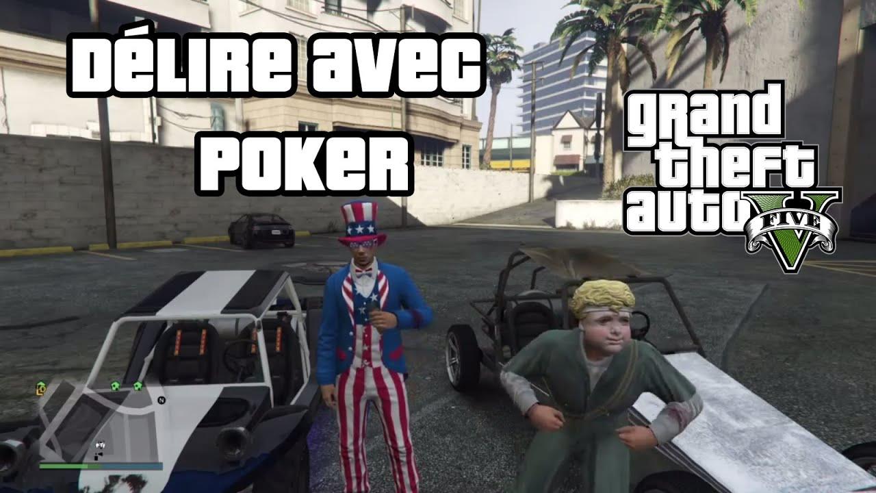 Mrjksaw - DELIRE GTA V AVEC POKER (PS4) ! - YouTube