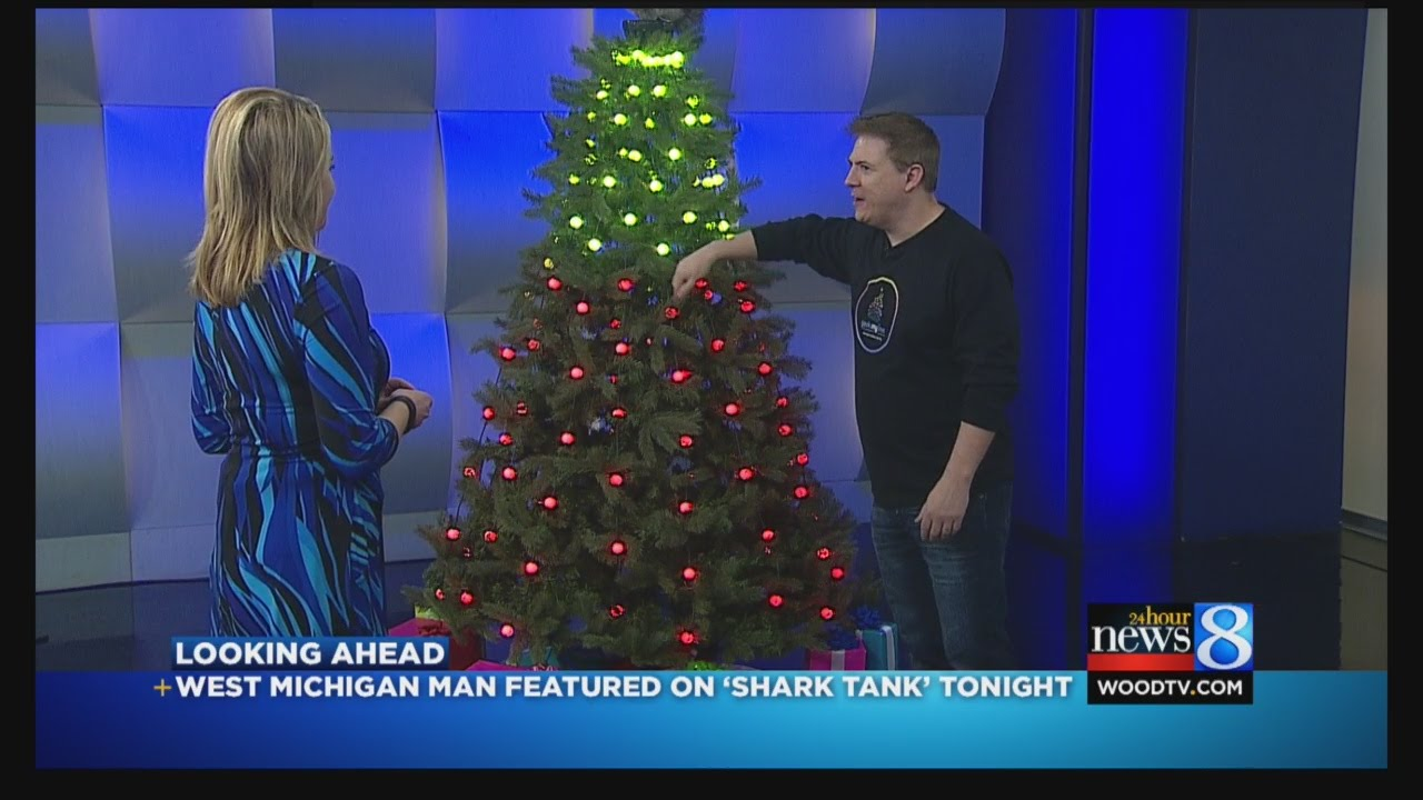 sc 1 st  YouTube & Local man featured on u0027Shark Tanku0027 for Christmas tree lights - YouTube