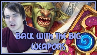 Hearthstone: Back with the big weapons (kingsbane rogue)