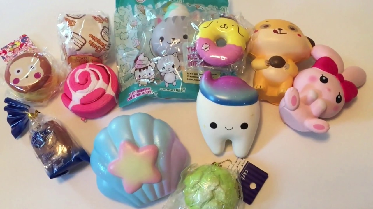 ea323a1ff3 Awesome SquishyShop.com s Lucky Bags! All Licensed Squishies! - YouTube