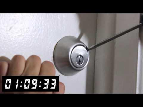 video:Drilling a Defiant Deadbolt - Front Range Locksmith