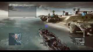 как создать озеро в  Battlefield 4