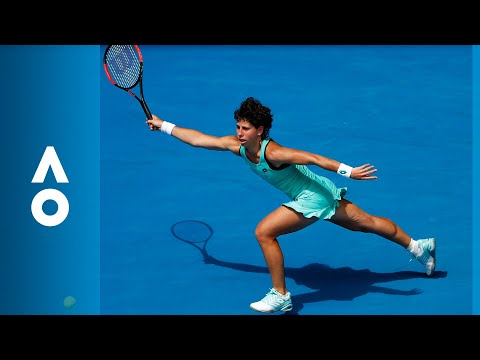 Anett Kontaveit v Carla Suarez Navarro match highlights (4R) | Australian Open 2018