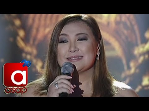 ASAP: Sharon Cuneta sings