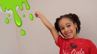 Slime on the Roof! Cali's Playhouse