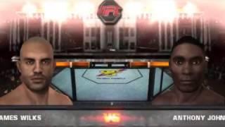 Anthony Johnson vs James Wilks (UFC Undisputed 2010)