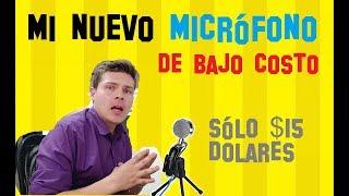 Micrófono Condensador Barato ideal para Youtube 🎙 | Review de mi NUEVO Micrófono YANMAI SF 922B