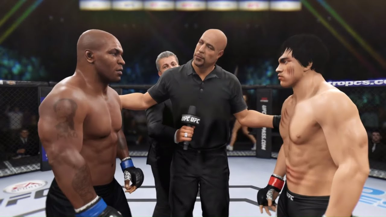 Download Bruce Lee vs. Mike Tyson (EA Sports UFC 2) - Rematch 🐲🥊 - Dragon Fights 🐉
