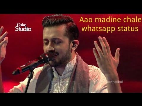 aao madine chalen whatsapp status video
