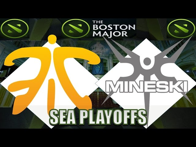 [BEST GAME] Fnatic VS Mineski #1 | Boston Major | Dota 2 Full Game 7.14