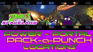 Zombies in Spaceland - Power Switch / Portal / PAP Locations - Infinite Warfare Zombies
