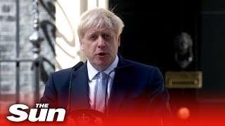 Boris Johnson's first speech as PM