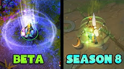 Evolution of League of Legends - From Beta to Season 8