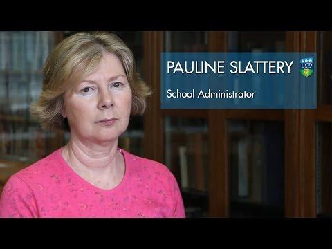Pauline Slattery - UCD English, Drama and Film