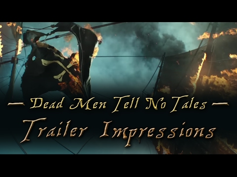 Pirates of The Caribbean: Dead Men Tell No Tales Trailer 2 ANALYSIS