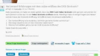 Kostenlose Kreditkarte der DKB leicht erklärt - So funktioniert DKB CASH und Post-Ident