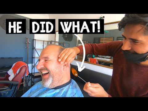My first TURKISH Barber Experience | VAN LIFE Adventures around the world