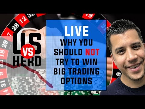 Why to trade options