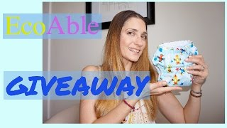 NEW EcoAble Ultimate Cloth Diaper ~ Review & GIVEAWAY {Closed}