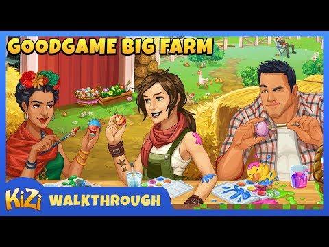 [Kizi Games] Goodgame Big Farm → Walkthough