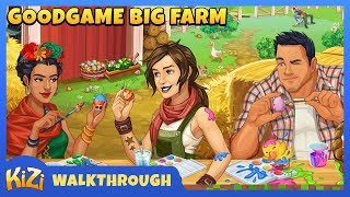 Goodgame Big Farm | Walkthough | Level up | Expand farm