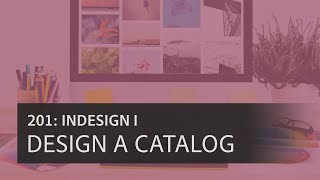 Create a Multi-Page Catalog in InDesign CC