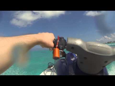 Jet Skiing Out to Sting Ray City and Rum Point Grand Cayman