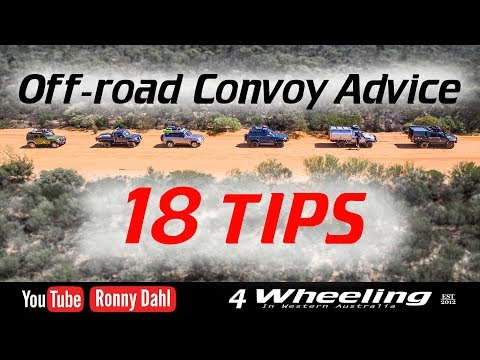 Off-Road Convoy Tips