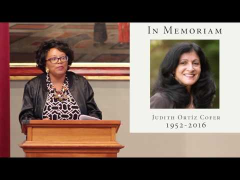 judith ortiz cofer and may he be bilingual This sample judith ortiz cofer essay is published for informational she writes at length about her bilingual and bicultural cofer, judith ortiz.