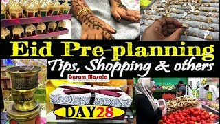 Day : 28 പെരുന്നാളിന് മുൻപ് Eidul Fiter Preplanning vlog; Tips, My Shopping & others