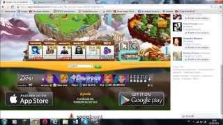 Hack de Dragon City 2015 - ORO, COMIDA y XP