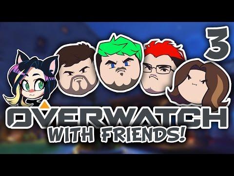 ►Overwatch w/ JackSepticEye, Markiplier, Egoraptor, Barry, and Fey ► PART 3 - Kitty Kat Gaming
